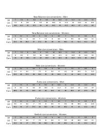 Asics Mens Shoe Size Chart Peninsula Conflict Resolution