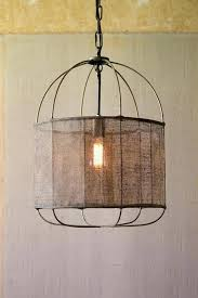 metal drum pendant light metal drum pendant light with vintage fabric shade in metal drum shade