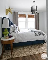 E Master Bedroom By Round Jute Rug