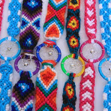 Dream Catchers Wholesale Wholesale Dream Catcher Hand Woven Cotton Bracelets 100 dream 45