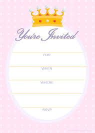 printable party invitations invitations for a princess printable party invitations invitations for a princess birthday party