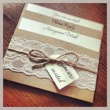 Vintage Wedding Invitation Diy