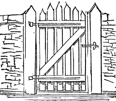 open door clipart black and white. Gate Closed Clipart Open Door Black And White
