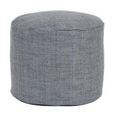sterling willow green square pouf ottoman  the home depot
