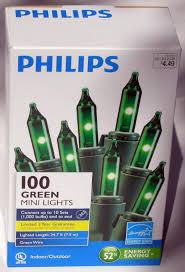 Philips 100 Green Mini Lights Philips 100 Green Mini Christmas Lights Holidayholic