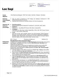 Warehouse Sample Resume Data Warehouse Manager Resume Sample Resume Resume Examples Resume 23