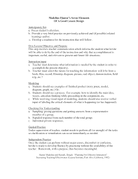 Lesson Plans Formats Elementary Madeline Hunter Lesson Plan Format Template Google Search 5th
