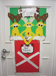 christmas office door decoration. Unusual Door Decoration: Source Christmas Office Decoration S