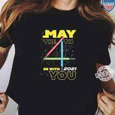 4th Be With You 2021 Lightsabers Shirt