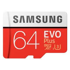 <b>Карта памяти Samsung</b> EVO Plus V2 microSDXC <b>64Gb</b> UHS-I U3 + ...