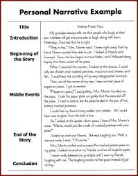 a step by step guide to write an a narrative essay personal narrative example