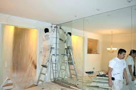 glass wall mirror removal removing large bathroom mirrors best of framed art for adelaide