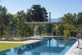 open pool house. Pool Houses Are Usually More Open Than Normal Houses, But This Glass House Takes The Idea Of Openness To Another Level. A
