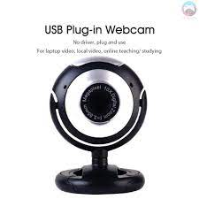 Ê Video Call Webcam Laptop Online Course USB Plug Web Cam With Microphone  Video Chat PC Camera For Computer Notebook - Webcam máy tính