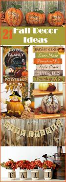 Simple Fall Decorating Ideas For Home   Fall Decor Pictures