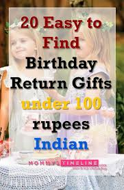i know kids birthdays require lots of planning and one part of that is return gifts i have to organize my daughter s birthday party in few days and so