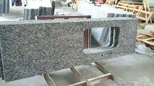 drilling granite countertops material spray white granite