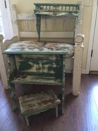 shabby chic childrens furniture. shabby chic childrenu0027s vintage reading desk bookshelf u0026 antique step stool set distressed childrens furniture