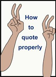 quotes marks legal writing tip usage guideline for quotations