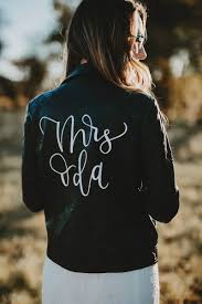 order here custom lettering faux leather jacket