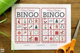 A collection of english esl worksheets for home learning, online practice, distance learning and english classes to teach about bingo, bingo. Christmas Bingo Free Bingo Cards Printable Grace And Good Eats