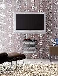 flat screen tv wall mount and shelves