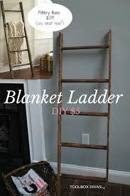 Diy Blanket Ladder Diy Blanket Ladder For A Babys Room Diy Blanket Ladder Diy