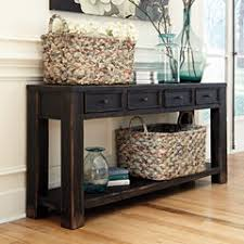 furniture for entryway. Signature Design By Ashley Gavelston Sofa Table Furniture For Entryway W