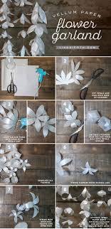 Paper Flower Backdrop Garland Diy Wedding Flower Kits Awesome Diy White Paper Flower Garland For