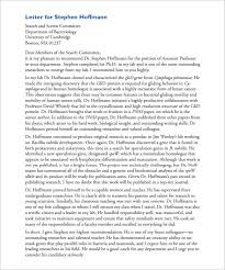 Letter Of Recommendation Samples For Students 12 Letter Of Recommendation For Student Templates Pdf