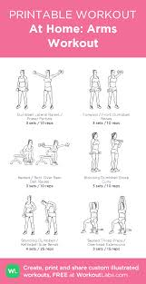 at home arms workout ilrated exercise plan created at workoutlabs for a printable pdf and to build your own customworkout