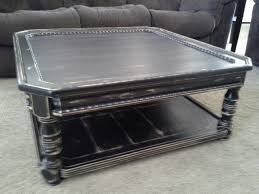 coffee tables ideas top distressed black coffee table