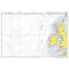 British Admiralty Charts Admiralty Chart 4102 Western Approaches To The British Isles