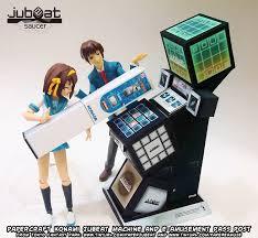 Papercraft Vending Machine Impressive Ninjatoes' Papercraft Weblog Papercraft Konami Jubeat Arcade