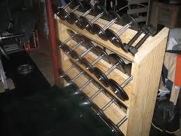 dumbbell rack building com forums
