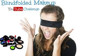 the whisper challenge the blindfolded makeup you challenge