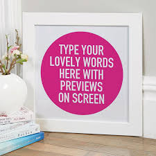 Custom Quote Prints Personalized Wall Art Quote Prints Canvases Chatterbox Walls 41