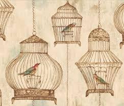 vintage birdcage wallpaper. Contemporary Birdcage Vintage Birdcages  Jaima Company LOVE This Birdcage Wallpaper To Wallpaper N