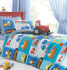 Digger & Tractor Boys Bedding