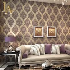 Wallpaper For Bedroom Aliexpresscom Buy European Silver Glitter Beige Green Grey