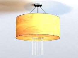 image vintage drum pendant lighting. Vintage Drum Pendant Light 3D Model Image Lighting