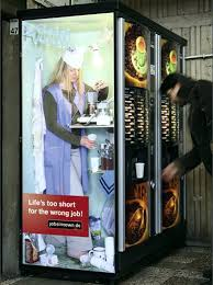 Man Vs Vending Machine Enchanting Man In The Vending Machine Ads Amazing Incredible