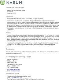 Nasuni Filer Administration Guide Pdf
