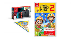 This Nintendo Switch deal includes Mario Maker 2, 12 months' Switch ...