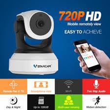 Ban Đầu Vstarcam IP 720P Camera C7824WIP Wifi Giám Sát Camera Quan Sát  Camera An Ninh Hồng Ngoại Nhìn Đêm PTZ Camera Xem Qua Điện Thoại Di Động|