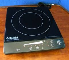 aroma aid 509 induction cooktop single burner