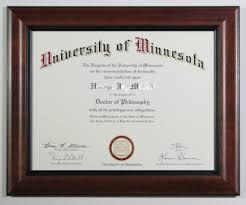 university of minnesota diploma frame carter avenue frame shop  university of minnesota diploma frame