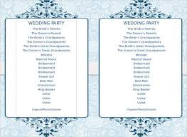 Free Microsoft Word Wedding Program Template 72 Wedding Program Template Free Word Pdf Psd Documents