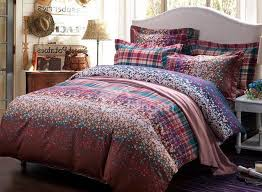 new arrival high quality 100 cotton fl print 4 piece bedding sets duvet cover
