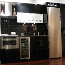 small kitchen refrigerator. Stylish Black And White Themes Small Kitchen Ideas With Refrigerator Also T